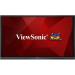 "Viewsonic IFP7550 Digital signage flat panel 75"" LCD 4K Ultra HD Black signage display"