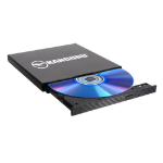 Kanguru QS Slim optical disc drive DVD±RW Gray