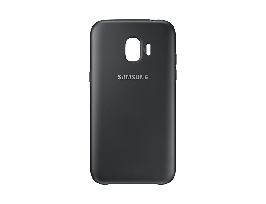 Samsung J2_2018 Dual Layer Cover - BLACK