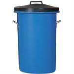Heavy Duty 85 Litre Blue Coloured Dustbin 311963