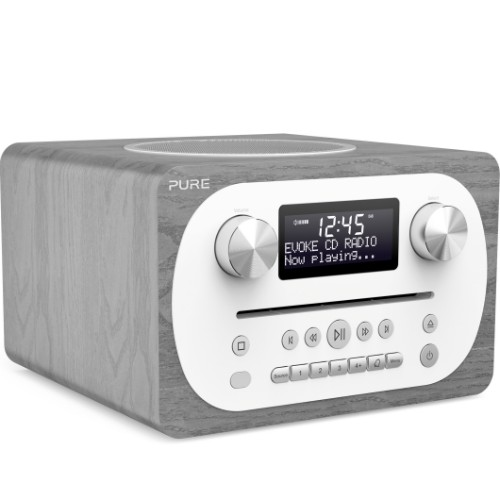 Pure Evoke C-D4 Digital 10W Grey, White