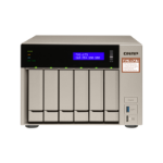 QNAP TVS-673e NAS Tower Ethernet LAN Black, Bronze