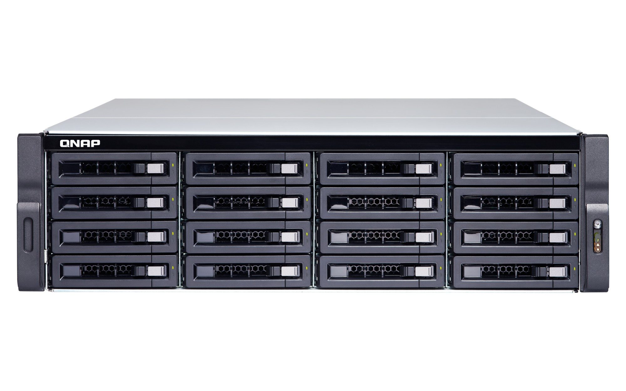 QNAP TS-1673U-RP-16G Ethernet LAN Rack (3U) Black NAS