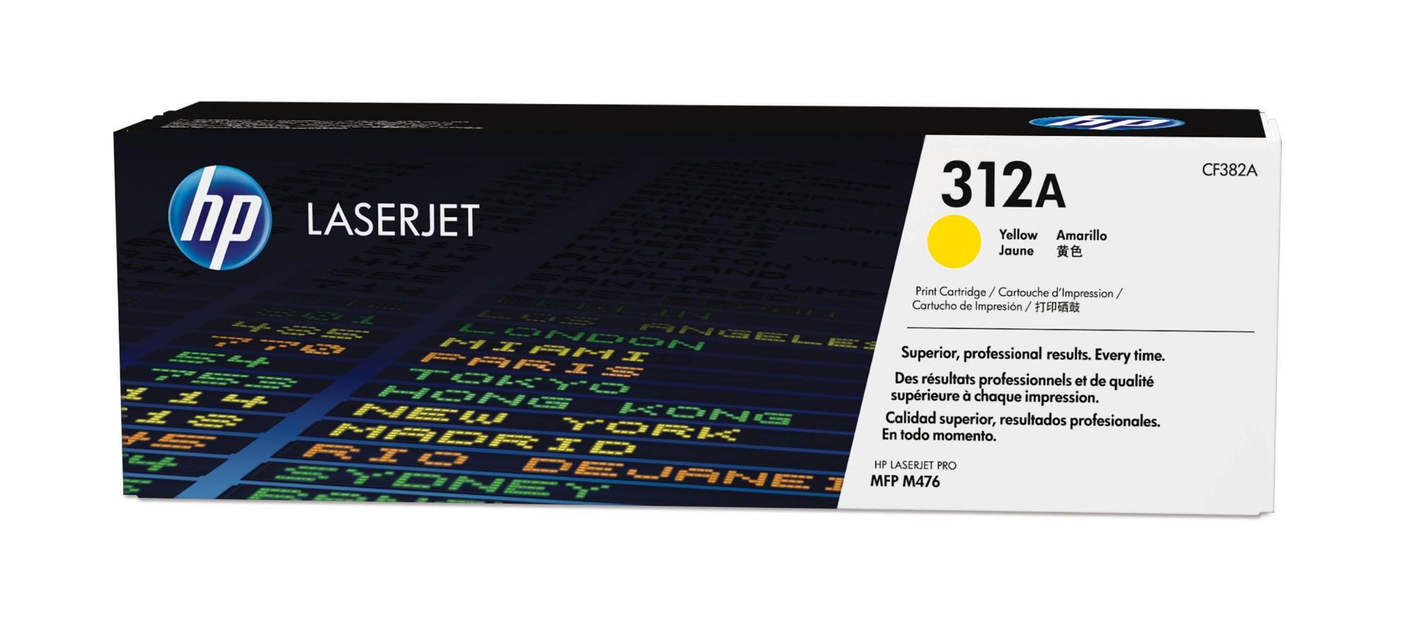 HP 312A Original Amarillo 1 pieza(s)