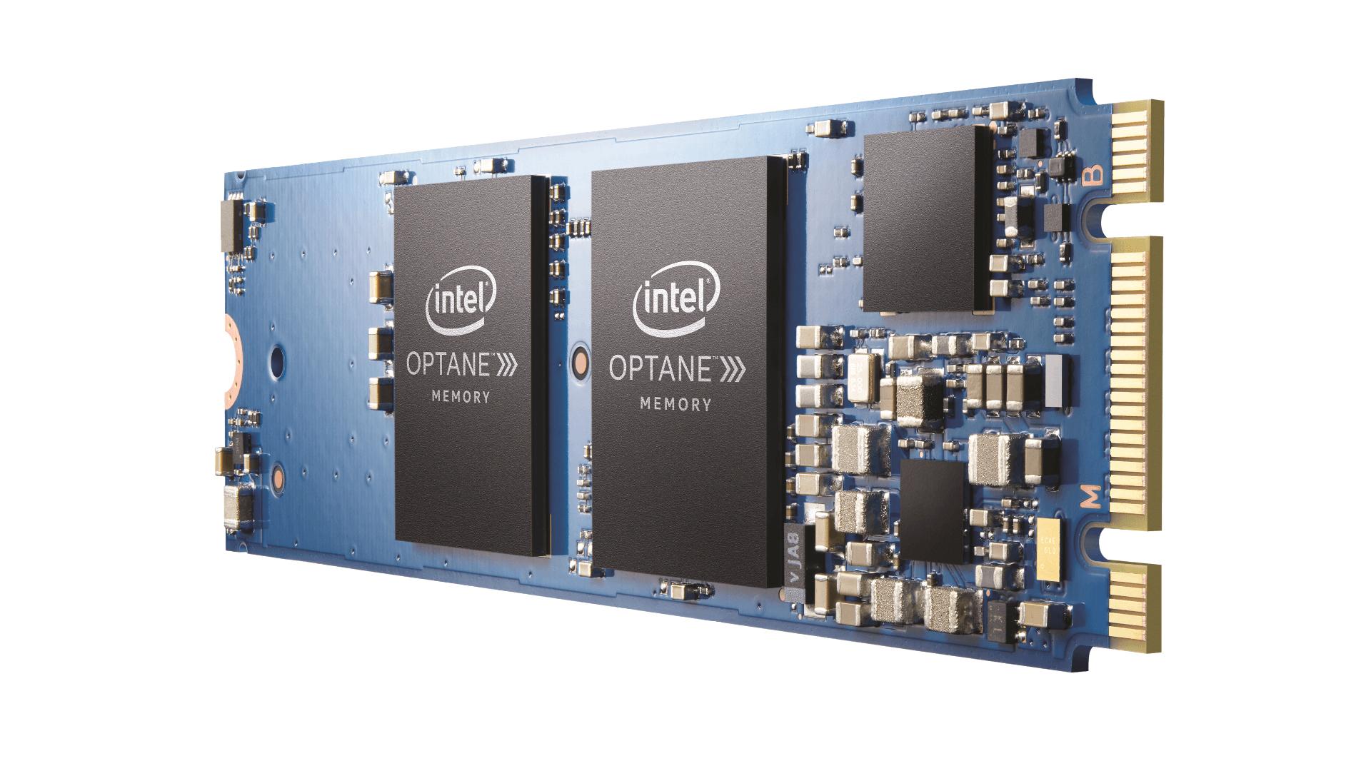 Intel Optane MEMPEK1J032GA01 unidad de estado sólido M.2 32 GB PCI Express 3.0 3D Xpoint NVMe