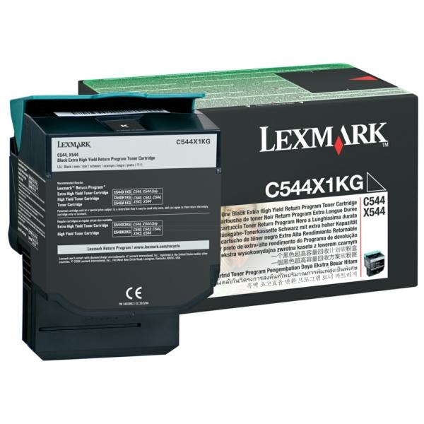 Lexmark C544X1KG Toner black, 6K pages
