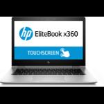 "HP EliteBook x360 1030 G2 Hybrid (2-in-1) Silver 33.8 cm (13.3"") 1920 x 1080 pixels Touchscreen 7th gen Intel® Core™ i7 16 GB DDR4-SDRAM 512 GB SSD Wi-Fi 5 (802.11ac) Windows 10 Pro"