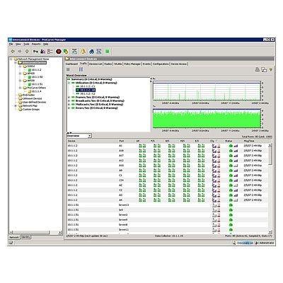 Hewlett Packard Enterprise ProCurve Manager Plus 2.1 100 device Upgrade