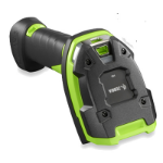Zebra LI3608 Handheld bar code reader 1D Black,Green