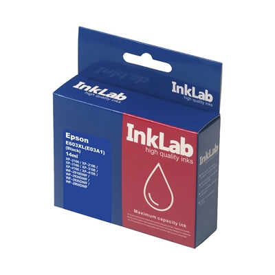 INKLAB 603XL Epson Compatible Black Replacement Ink