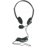Manhattan 164429 Binaural Head-band Black,Silver headset