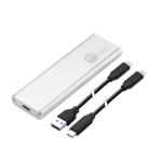 Siig JU-SA0W11-S1 storage drive enclosure SSD enclosure Silver M.2