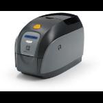 Zebra ZXP1 Dye-sublimation/Resin Thermal transfer Color 300 x 300DPI Negro, Gris, Amarillo impresora de tarjeta plástica