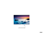 "Lenovo IdeaCentre 3 60.5 cm (23.8"") 1920 x 1080 pixels AMD Ryzen 3 8 GB DDR4-SDRAM 1000 GB HDD Windows 10 Home Wi-Fi 5 (802.11ac) All-in-One PC White"