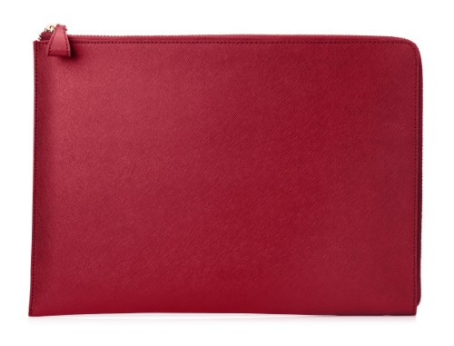 "HP Spectre Split Leather Sleeve 33.8 cm (13.3"") Sleeve case Red"