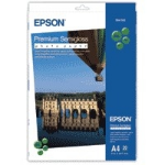 Epson A4 Premium Semigloss Photo Paper photo paperZZZZZ], S041332