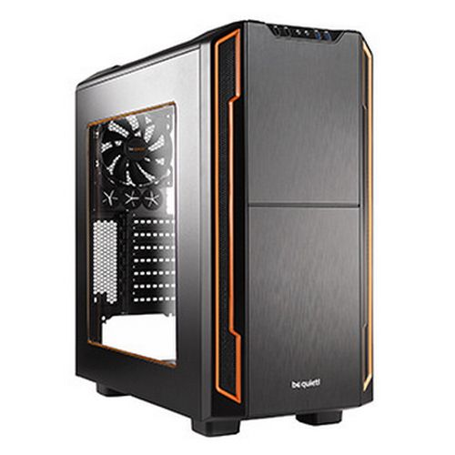 be quiet! Silent Base 600 Midi-Tower Orange,Black