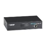 Black Box ServSwitch CX Uno KVM switch Rack mounting