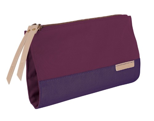 STM grace clutch Polyester Purple Clutch bag