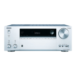 ONKYO TX-NR676E AV receiver 7.2 channels Surround 3D Silver