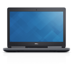 "DELL Precision 7510 2.9GHz E3-1535Mv5 15.6"" 1920 x 1080pixels Black Mobile workstation"