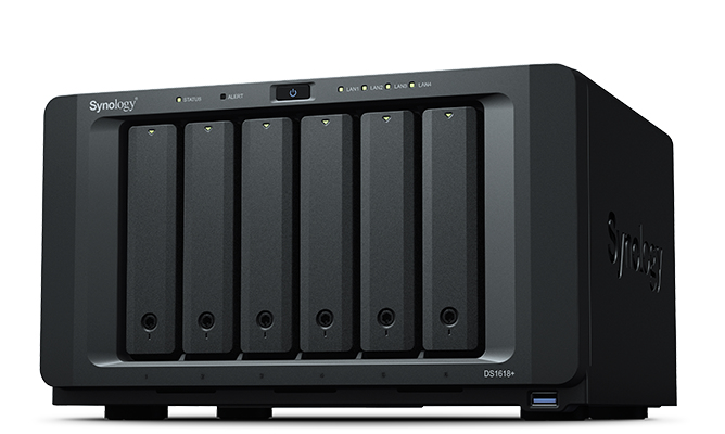 Synology DiskStation DS1618+ Ethernet LAN Tower Black NAS