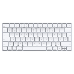 Apple Magic Keyboard Bluetooth QWERTY Swedish Silver, White