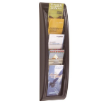 FastPaper Fast Paper 1/3 A4 Quick Fit Wall Display Black