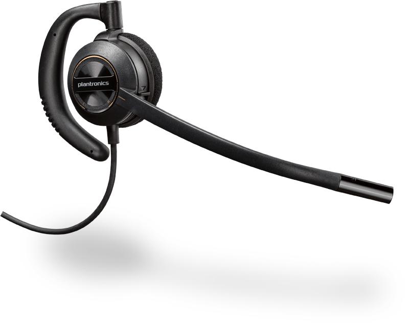 Plantronics EncorePro 530 Monaural Ear-hook Black headset 201500-02