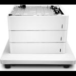 HP Color LaserJet 3x550 Papierzuführung und Unterstand