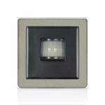 Lightwave LW107SS motion detector Passive infrared (PIR) sensor Wall Stainless steel