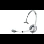 Jabra UC Voice 750 USB Monaural Head-band Grey,White headset