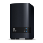 Western Digital My Cloud EX2 Ultra 3.5 Inch 2 bay My Cloud EX2 Ultra NAS, 8TB, Zwart