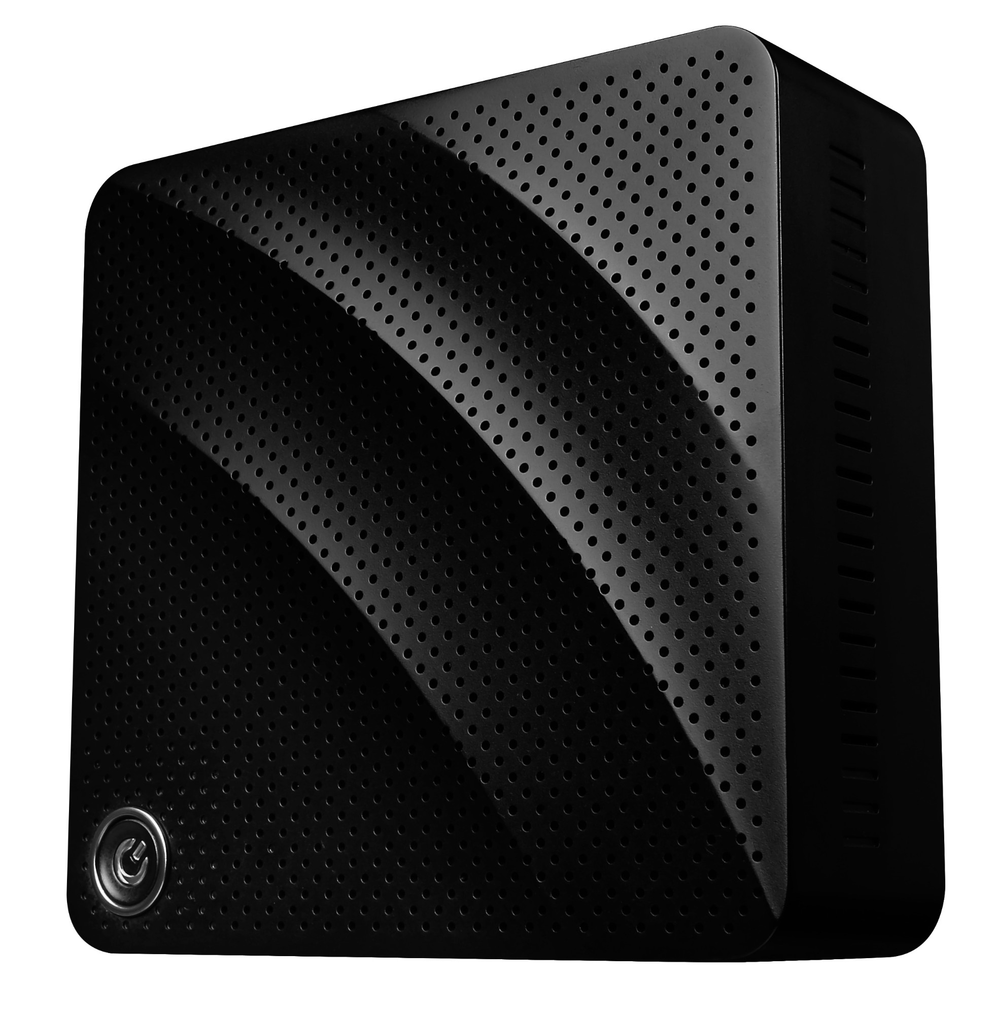 MSI CUBI N-020BEU Intel Soc BGA1170 1.6GHz N3710 0.6L sized PC Black