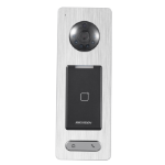 Hikvision Digital Technology DS-K1T500S access control reader Black, Silver