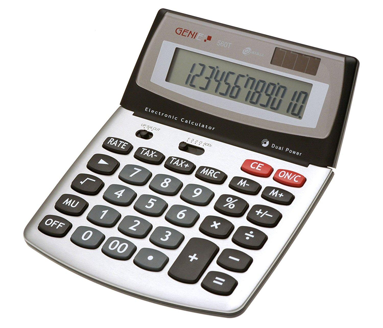 Genie Value Genie 560T 12-digit desktop calculator 10270