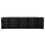 Synology RackStation RS4017xs+ Ethernet LAN Rack (3U) Black, Grey NAS