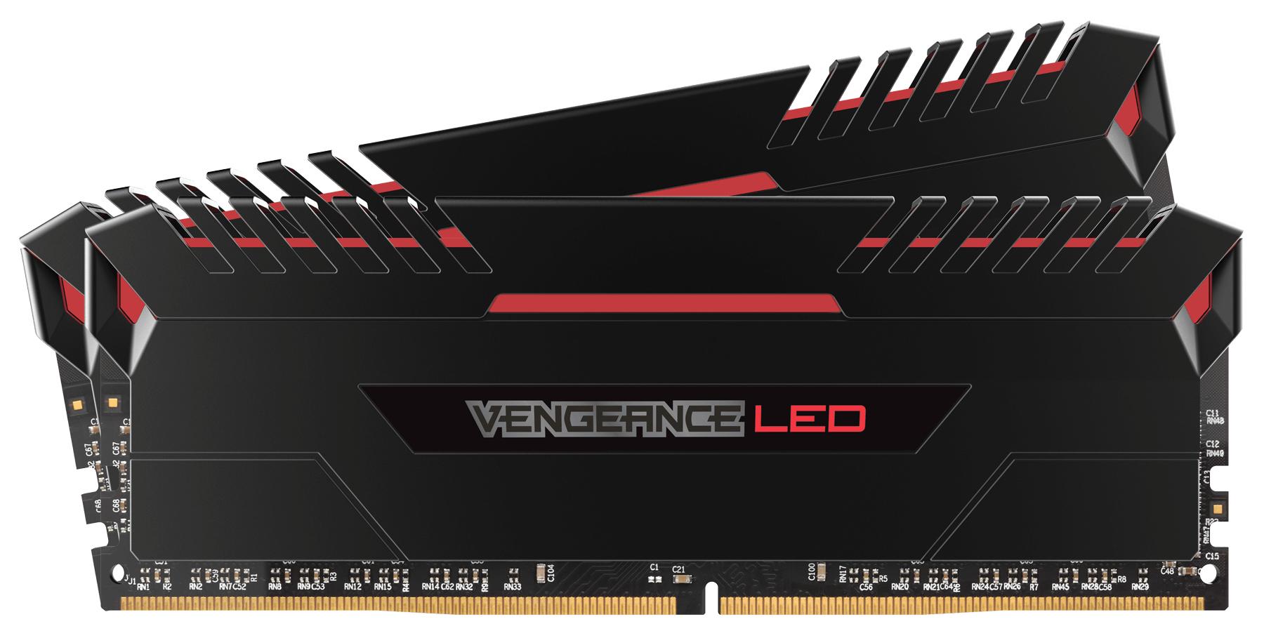 Corsair Vengeance LED 2x8GB DDR4-3000 16GB DDR4 3000MHz memory module