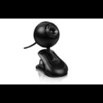 Acteck CW-760 0.3MP USB Negro cámara web dir